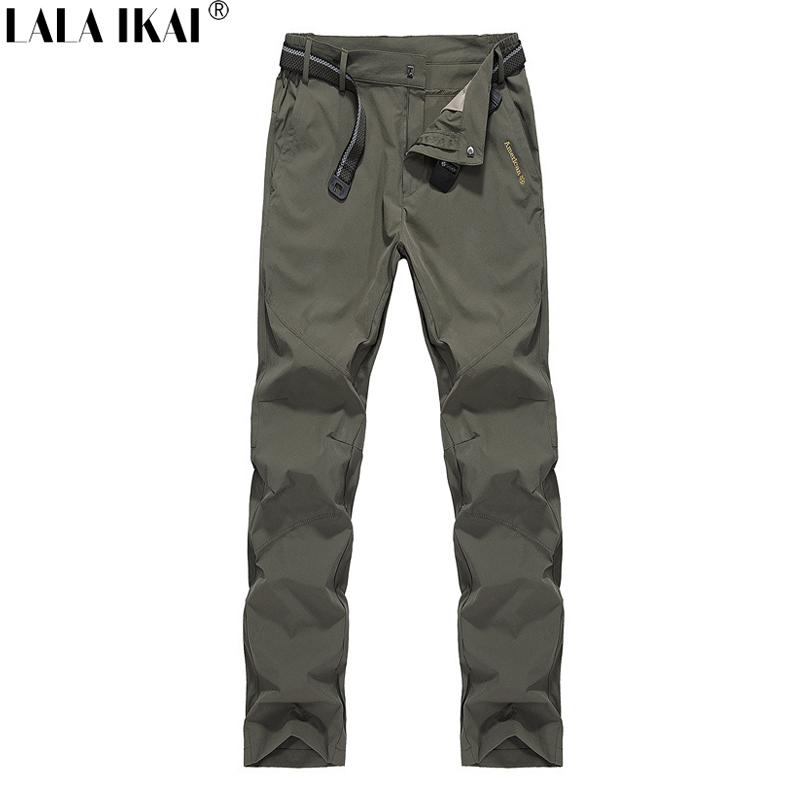 Men Pants Hiking Climbing Breathable Summer Style Tactical Pants Men Military QuickDry Camping Outdoor Sport Pants Men HME0070-2