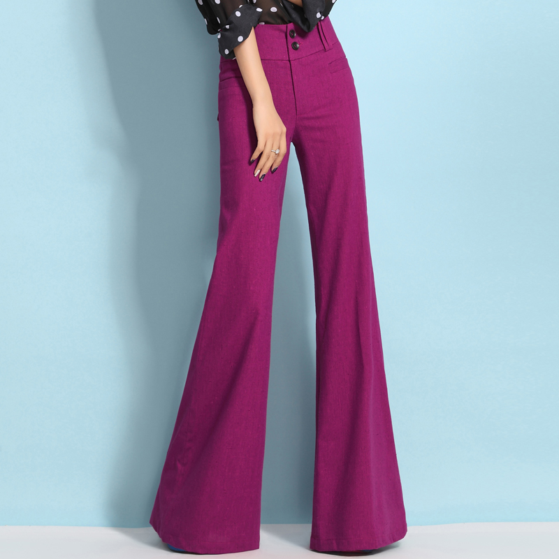 Popular Linen Wide Leg Palazzo Pants-Buy Cheap Linen Wide Leg ...