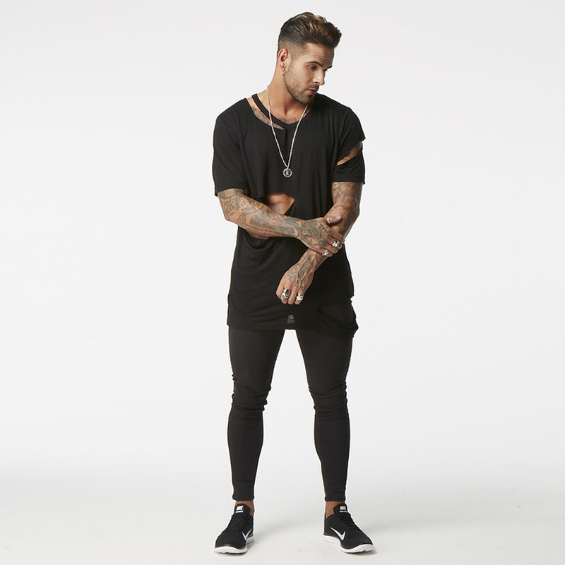Skinny Jeans Men Black Classic Hip Hop Stretch Jeans Hombre Slim Fit Fashion Famous Brand Biker Style Tight Jeans Male Big Size(China (Mainland))