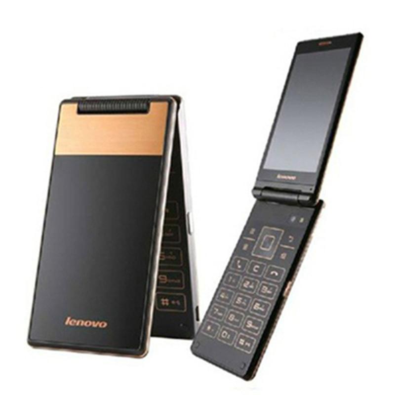 Original Lenovo Android Flip Old Phone A588T MTK6582 Quad Core Smart phone 4GB ROM Dual Sim 4.0 Inch 5MP Camera Russian Keyboard(China (Mainland))