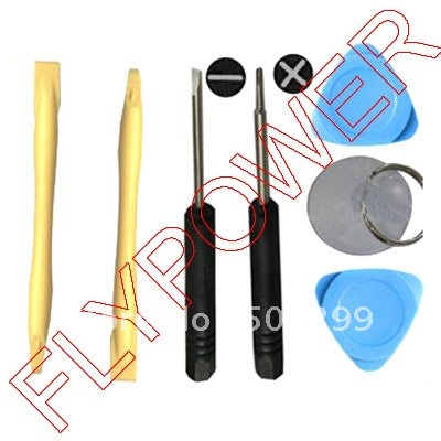 NDS PSP 7 in 1 Opening Tools Set for ipod iphone 2g 3g & 3gs by free shipping: 20pcs per lot