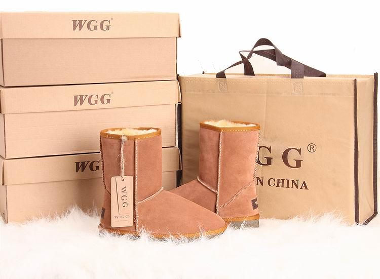 WGG חם הנמכר גבוה נמוך בינוני גבוה איכות החורף עור פרה שרירים outsole שלג מגפי חורף מגפי נעלי