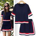 New Arrival Women s Suits 2pcs Cheap Price Cardigans Female Dress Suits For Autumn Thin Knitted