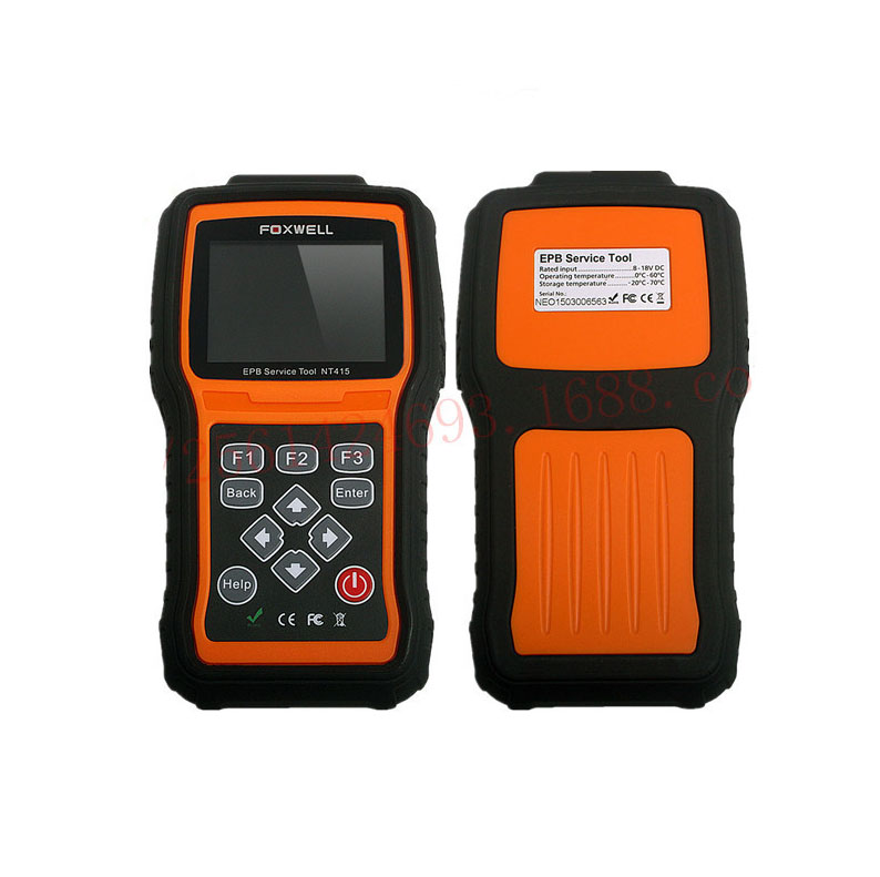 Original Fox-well NT415 EPB Electronic Park Brake Service Tool Powerful Diagnostic Tool Works On the Latest 2012/2013 Models(China (Mainland))