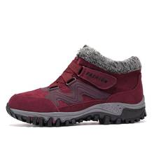 VESONAL 2019 Winter Wildleder Leder Ankle Schnee Männer Stiefel Schuhe Mit Fell Plüsch Warme Klassischen Männlichen Casual Frauen Boot Turnschuhe unisex(China)