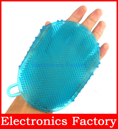 Silicone Multifunctional Smooth Slimming Cellulite Brush Bathing Massage Glove Massager Relaxation Anti Fat Body Arm Weight