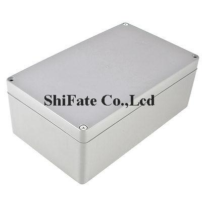 Waterproof Gray Plastic Case DIY Junction Box Joint Hinged Lid 200x120x75mm(China (Mainland))
