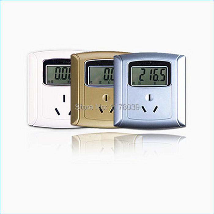 Electric Meter Panel : Digital electricity meter socket a panel metering