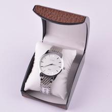 Venta al por mayor del leopardo de lujo de reloj caja y caja de regalo de plástico de terciopelo cajas de grado tamaño 10.5 * 8 * 6 cm se pueden personalizar LOGO