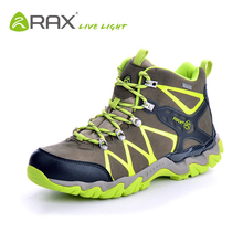 RAX Waterproof lightweight breathable hiking boots men senderismo trekking walking mountain outdoor sprorts shoes Free shipping