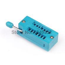 Buy 1PCS 14 Pin Universal ZIF Socket IC Test Program for $1.25 in AliExpress store