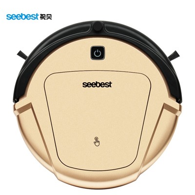 Wet/Dry Ultra Fine Air Filter Robot Vacuum Cleaner with Gyroscope Navigator System LCD Remote control Anti fall and collision(China (Mainland))