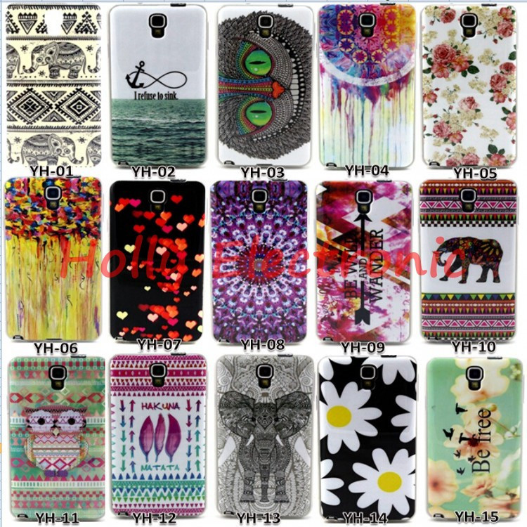 New Arrival Cartoon Fashion Luxury TPU Soft Cover Case For Samsung Galaxy Note 3 Neo Lite N7505 7505 Mobile Phone Skin
