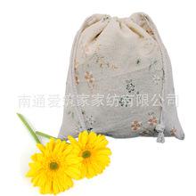 2016 Rushed Estuches School Pen Case Wholesale Cotton Bags Mianma Cloth Pocket Bag Broken Flower Folding Drawstring 14*16cm Az(China (Mainland))