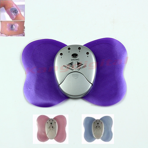Tool for Hot Selling Mini Butterfly Design Body Electronic Slimming Massager Muscle Massager Free Shipping