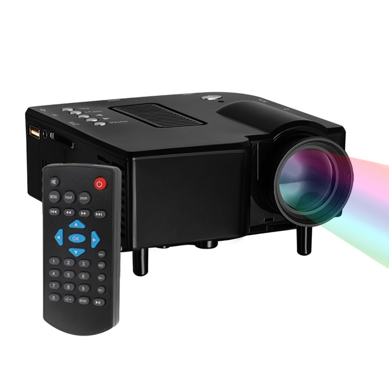 2016 hot top dmy uc28 portable led projector cinema for Top rated pocket projectors