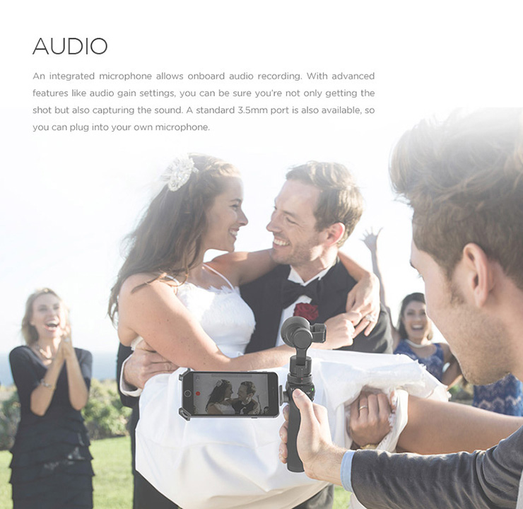 DJI Osmo Handheld 4K Camera and 3-Axis Gimbal Aerial Photography Newly Discount Hot