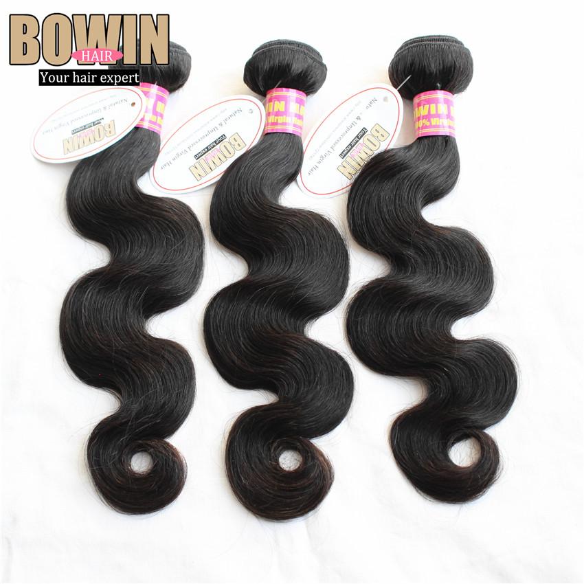 FREE SHIPPING Virgin Peruvian Hair 3pcs lot Body Wave Hair Extensions Unprocessed Virgin Peruvian Hair 12-30inch Natural 1B<br><br>Aliexpress