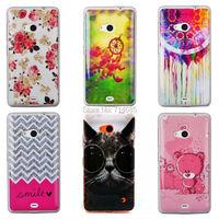 Cute Cool Rilakkuma Cat Owl TPU Silicone Protective Phone Case for Microsoft Lumia 535 Dual SIM RM-1090 RM-1089 Back Cover Skin