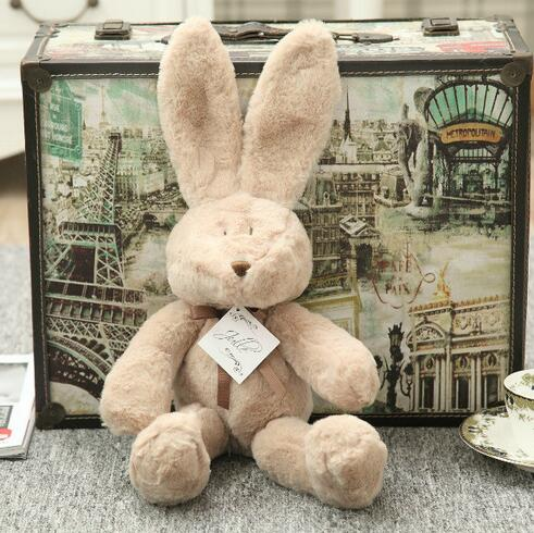 Hot sale 50cm high quality Imported fabric full manual bear doll series interiorhuset burst ins new rabbit r Plush toys1pc(China (Mainland))