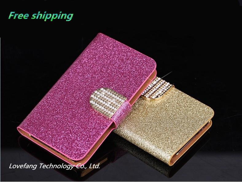 Imported Bling PU leather for Motorola MOTO G mobile phone case Motorola MOTO G protective case mobile phone bag cell phone case(China (Mainland))