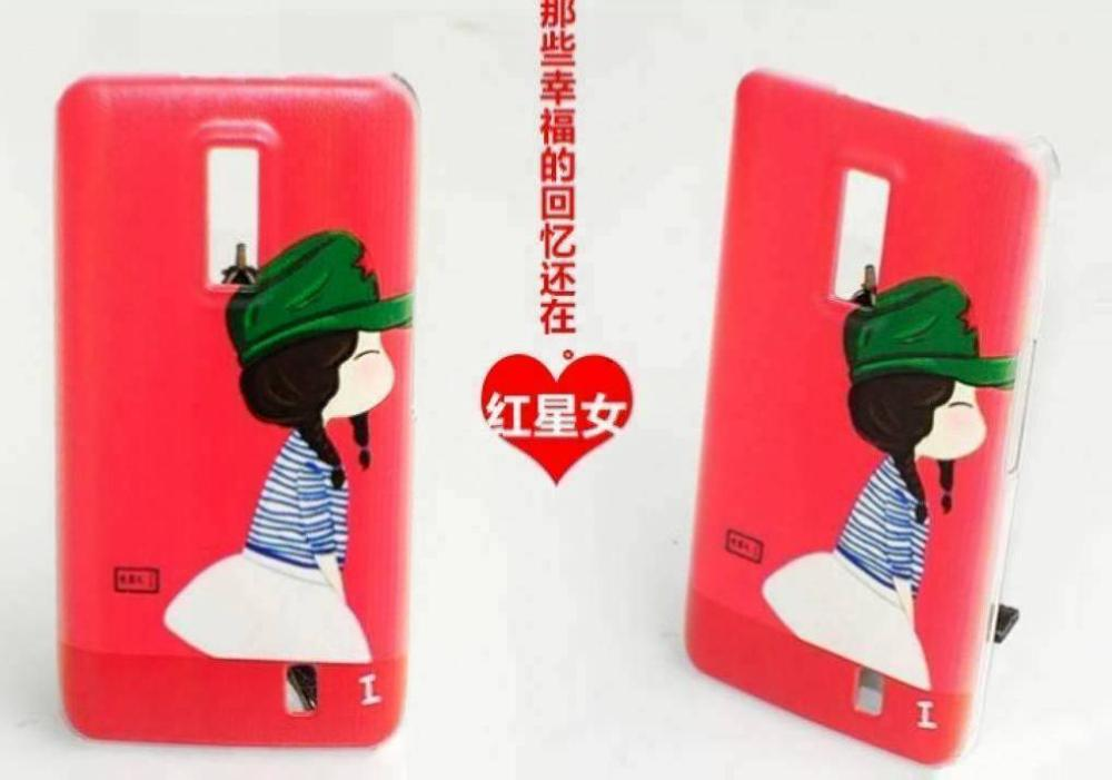 hot sale green hat love couples phone girl hard plastic case cover for Huawei S1(China (Mainland))