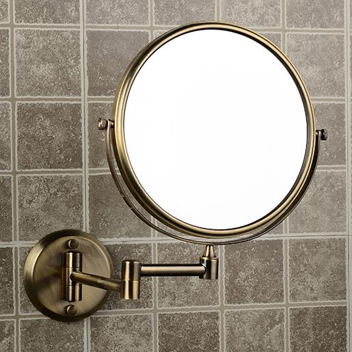 Зеркало круглое настенное со светодиодами