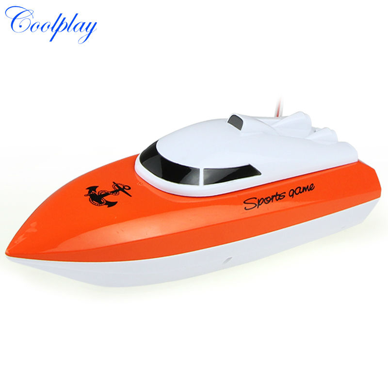Coolplay charging outdoor toys radio control RC 4 Channels Waterproof Mini speed boat Airship CP802 as gift for children(China (Mainland))