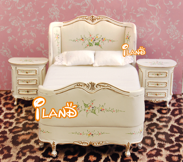 iland 112 dollhouse victorian bedroom furniture set