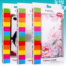 Newest universal retail packaging package paper box for Apple iPhone4 5 5s case for Samsung galaxy s3 s4 mobile phone caseKJ-323