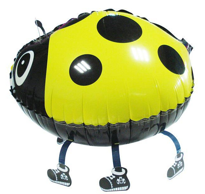 ladybug balloon walking balloons animals inflatable air ballon for party supplies kids classic toy 56*43cm(China (Mainland))