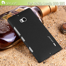 "New Arrival AIXUAN"" Brand Quicksand Antiskid Rubberized Matte Hard Case Cover For Nolkia Lumia 930 + Screen Film Gift"