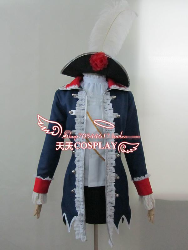 Axis Powers Hetalia Prussia Cosplay Costume Custom Any Size