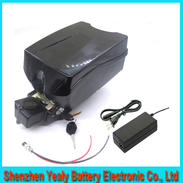 48V 20AH Portable Lithium Battery ,with 1000W BMS Chargrer ,E-bike Electric Bicycle Scooter 48V Lithium battery with F rog case(China (Mainland))