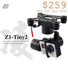 Zhiyun Tiny2 3 Axis Brushless Gimbal Stabilizers for GoPro/3/3+/4 Camera DJI Phantom 2 3 F450 F550 X525 Quadcopter Drone