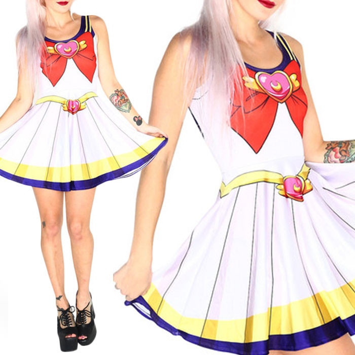Wholesale Anime Sailor Moon Cosplay Sexy Costume Plus Size ...