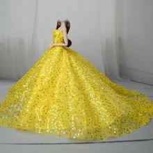 15 стилей Элегантное свадебное платье для куклы Принцесса Вечерняя одежда длинное платье наряд с вуалью для кукол(China)