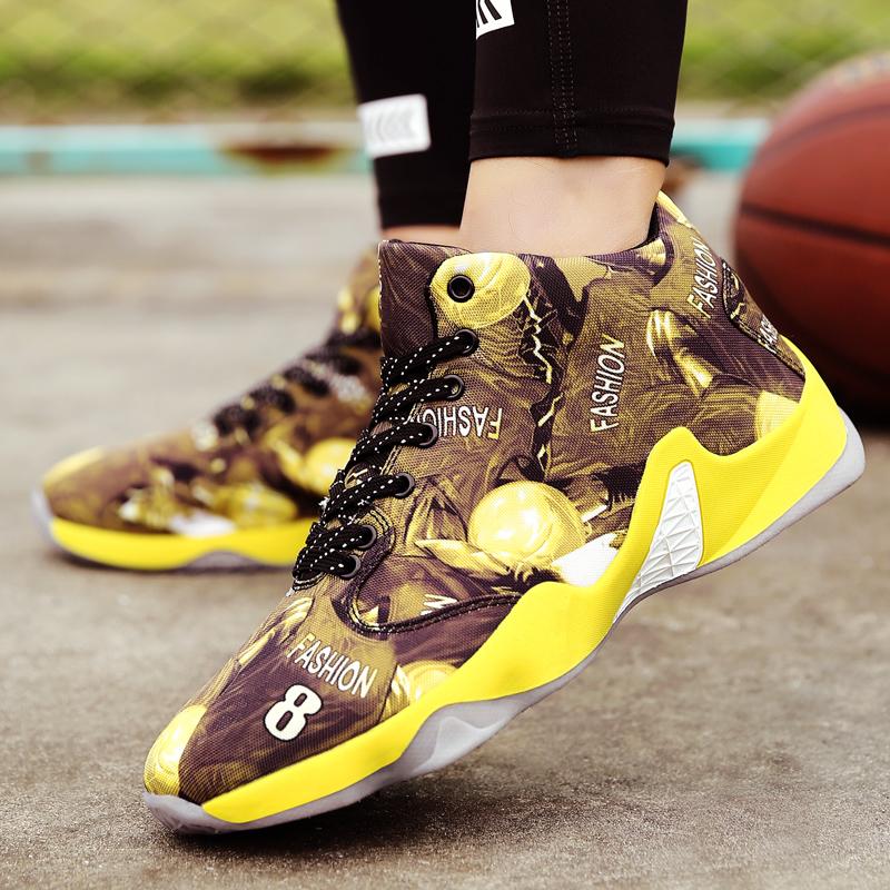 Low mandarin duck basketball shoes slip-resistant wear-resistant sports califs basketball shoes breathable shoes(China (Mainland))