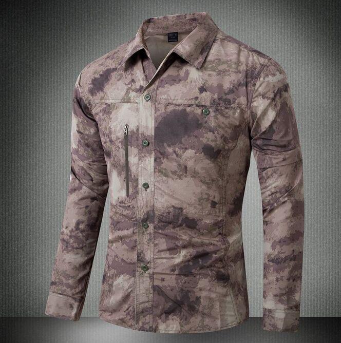 2016 Tactical Shirt Quick-dry Typhon Long sleeve ( sleeve can detach with zipper) Mardrake Highlander CP ACU(China (Mainland))