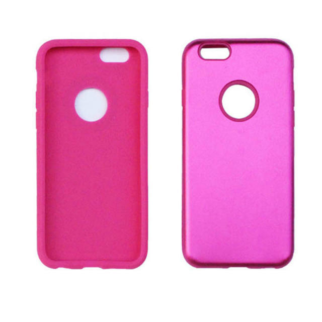 Hybrid Hard Metal Alloy aluminium Soft silicone Rubber Gel Armour Duty heavy skin cover cases iphone 6 6G 4.7 5 5S 10 - Topabc store