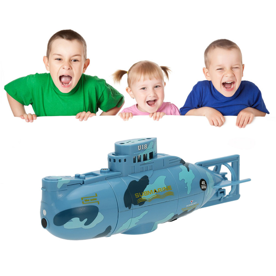RC Submarine 3311 Sea Wing Star 27MHz Radio Control Submarine Tourism Boat Toy Boys Gifts Blue Free shipping(China (Mainland))