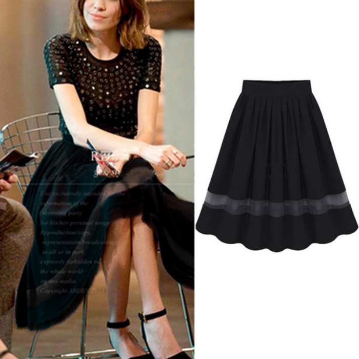 Ladies A Line Skirts