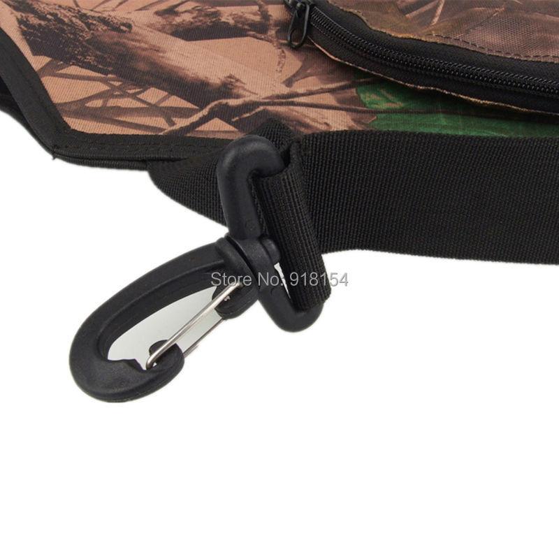 OneTigris Camo Archery Arrow Belt Quiver Hunting Hip Quiver Camo Arrow Holder With Belt BACK SIDE