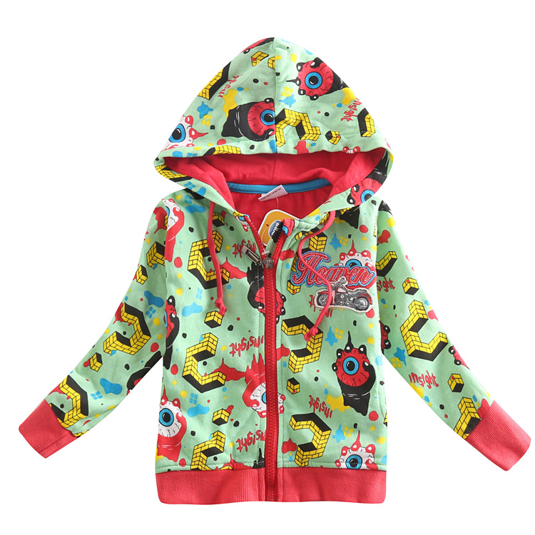 FREESHIPPING A3411# 5 pieces/lot 2013 new fashion hot selling NOVA kids sportwear autumn-winter baby boys hoodies with hood<br><br>Aliexpress