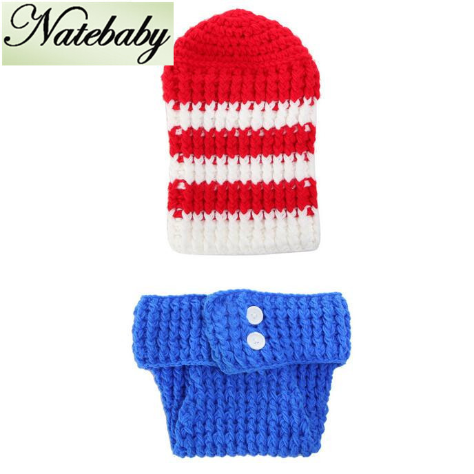 2016 explosion models hand knitted baby clothes baby crochet wild newborn photography props NC0346(China (Mainland))