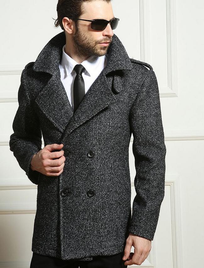 Pea Coat For Winter