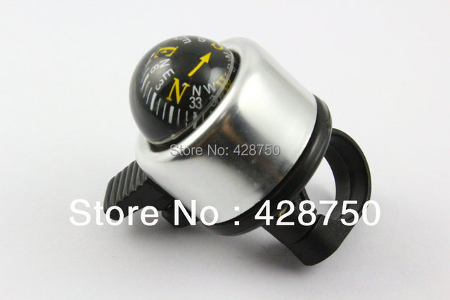 Aluminum Ring Bicycle Bell Mountain Bike Compass Ball Bell Bicycle Ring Free Shipping