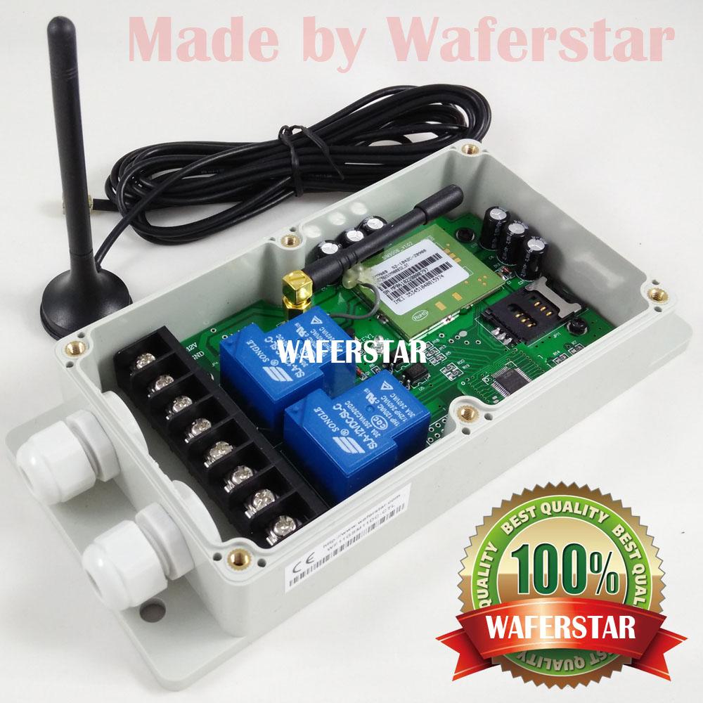 Здесь можно купить    with fast express delivery  version Double big power relay output GSM switch  Безопасность и защита