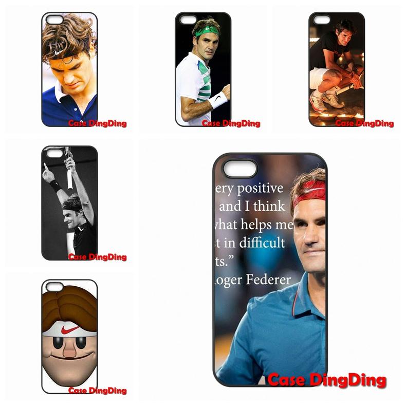 Tennis Roger Federer For Moto X1 X2 G1 E1 Razr D1 Razr D3 iPhone 4 4S 5 5C SE 6 6S Plus Apple iPod Touch 4 5 6 case Accessories(China (Mainland))