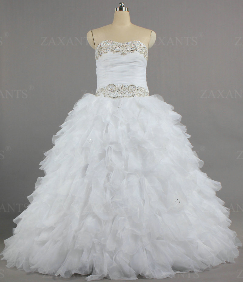 Buy w1415 women 2016 no train rhinestone for Wedding dress no train